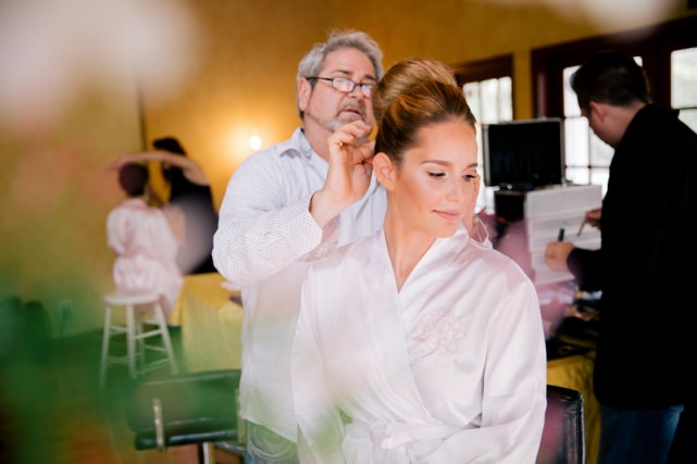 Bride Getting Ready Southern Waters Fort Myers Florida