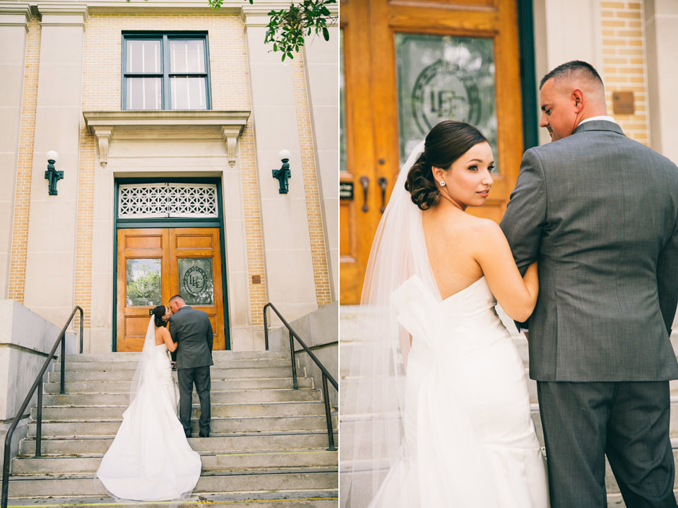 Ben and Marie Downtown Fort Myers Wedding - Anastasiia Photography