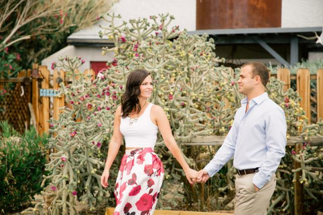 Garden Suits Hotel Joshua Tree Engagement Photoshoot