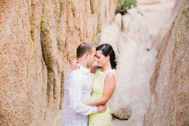 Engagement Photoshoot in Joshua Tree National Park California