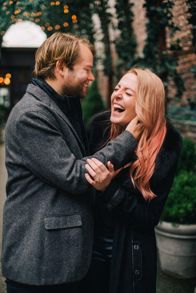 Engagement in Mondrian Hotel Soho NYC Wedding Photographer