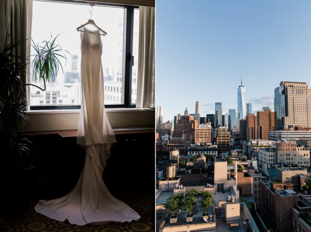 Tribeca Rooftop Wedding New York City