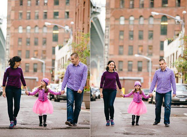 Photoshoot in Dumbo Brooklyn