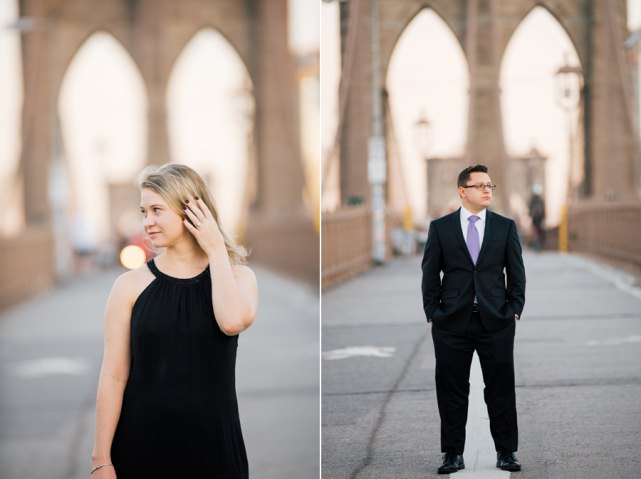 Brooklyn Bridge Engagement NYC Wedding Photographer