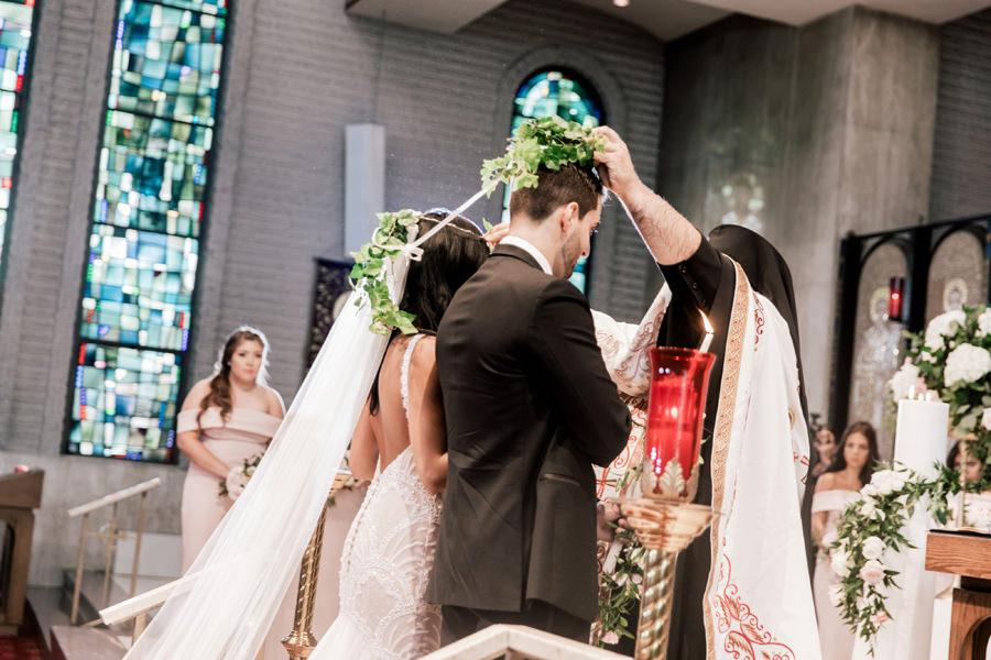greek orthodox wedding ceremony